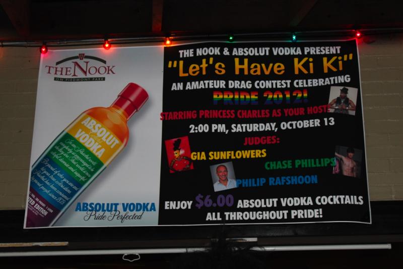 Let's Have a Ki Ki at The Nook on Piedmont Park