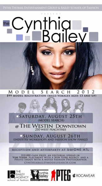 Cynthia Bailey Model Search Atlanta