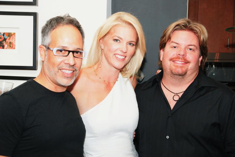 Corinna Allen Emmy Award Reception