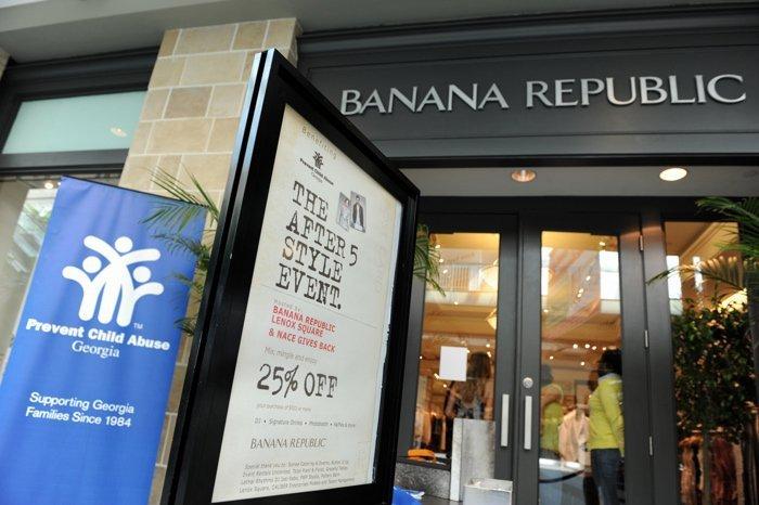 Banana Republic Fashion Event