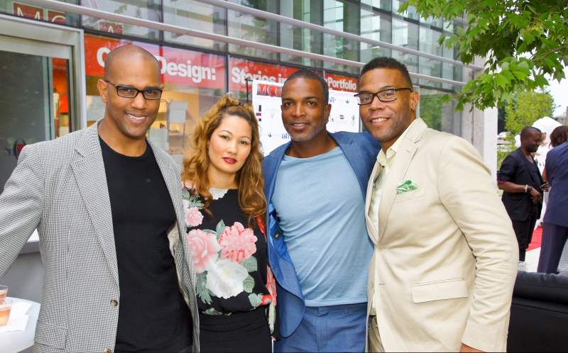 MCD with Vernon Davis and Antone Barnes at MODA